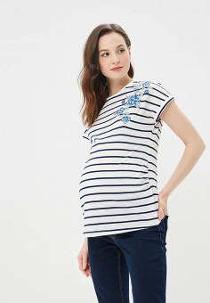 Футболка, Dorothy Perkins Maternity, цвет: белый. Артикул: DO028EWBJRT8. Dorothy Perkins Maternity