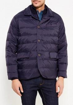Пуховик, Dockers, цвет: синий. Артикул: DO927EMVWK57. Одежда / Верхняя одежда / Пуховики и зимние куртки