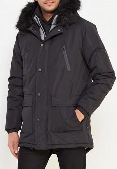 Куртка утепленная, d-Struct, цвет: черный. Артикул: DS003EMWSR70. Одежда / Верхняя одежда / Пуховики и зимние куртки