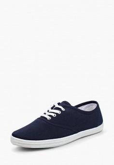 Кеды, D.T. New York, цвет: синий. Артикул: DT002AWQHJ92. Обувь / Кроссовки и кеды / Кеды