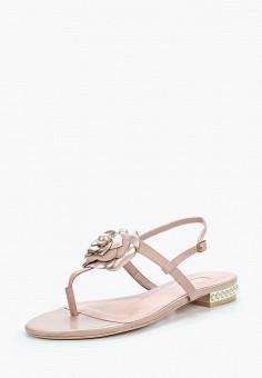 Сандалии, Dune, цвет: розовый. Артикул: DU001AWZSM42. Обувь / Сандалии