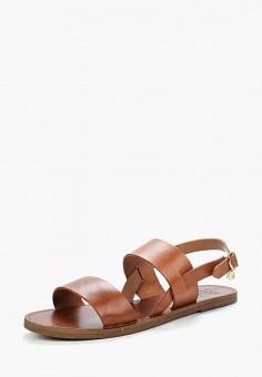 Сандалии, Dune, цвет: коричневый. Артикул: DU001AWZSM88. Обувь / Сандалии