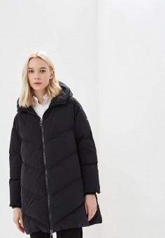 Пуховик, Duno, цвет: черный. Артикул: DU013EWCIDC1. Premium / Одежда / Верхняя одежда / Зимние куртки