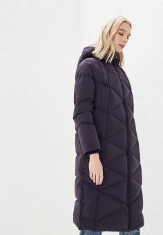 Пуховик, Duno, цвет: синий. Артикул: DU013EWCIDC5. Premium / Одежда / Верхняя одежда / Зимние куртки