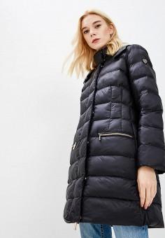 Куртка утепленная, EA7, цвет: черный. Артикул: EA002EWBODS4. Одежда / Верхняя одежда / Демисезонные куртки