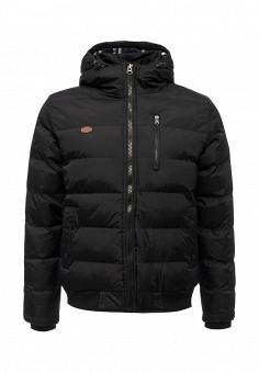 Куртка утепленная, E-Bound, цвет: черный. Артикул: EB002EMVPU48. Мужская одежда / Верхняя одежда / Пуховики и зимние куртки