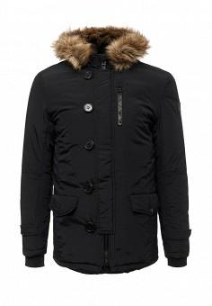Куртка утепленная, E-Bound, цвет: черный. Артикул: EB002EMVPU55. Мужская одежда / Верхняя одежда / Пуховики и зимние куртки