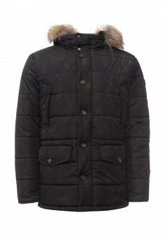 Куртка утепленная, Eden Park, цвет: черный. Артикул: ED009EMXHS28. Премиум / Одежда / Верхняя одежда / Пуховики