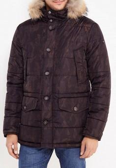 Куртка утепленная, Eden Park, цвет: черный. Артикул: ED009EMXHS28. Одежда / Верхняя одежда / Пуховики и зимние куртки