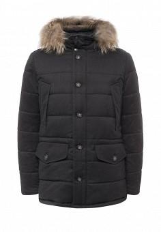 Куртка утепленная, Eden Park, цвет: серый. Артикул: ED009EMXHS31. Премиум / Одежда / Верхняя одежда / Пуховики