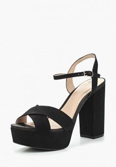 Босоножки, Ekonika, цвет: черный. Артикул: EK002AWALKF3. Обувь / Босоножки
