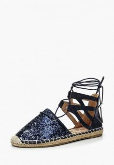 Сандалии, Ella, цвет: синий. Артикул: EL023AWPYN74. Обувь / Сандалии