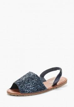 Сандалии, Ella, цвет: синий. Артикул: EL023AWZWO94. Обувь / Сандалии