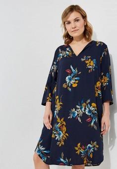 Платье, Elena Miro, цвет: синий. Артикул: EL024EWBETY2. Premium / Одежда / Платья и сарафаны
