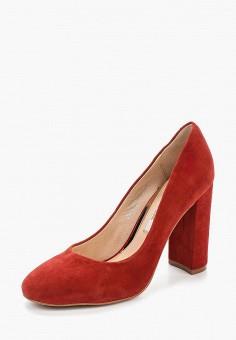 Туфли, Elche, цвет: красный. Артикул: EL242AWAJKH9. Обувь / Туфли / Закрытые туфли