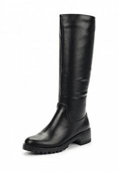 Сапоги, Elche, цвет: черный. Артикул: EL242AWWPC24. Обувь / Сапоги