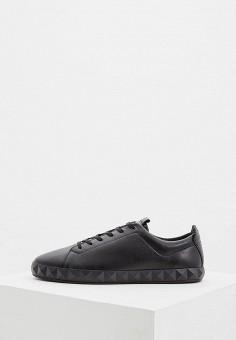 Кеды, Emporio Armani, цвет: черный. Артикул: EM598AMBLJG6. Обувь / Кроссовки и кеды / Кеды
