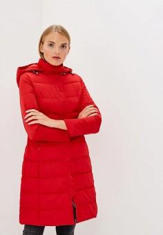 Куртка утепленная, Emporio Armani, цвет: красный. Артикул: EM598EWBLMW6. Premium / Одежда / Верхняя одежда / Зимние куртки