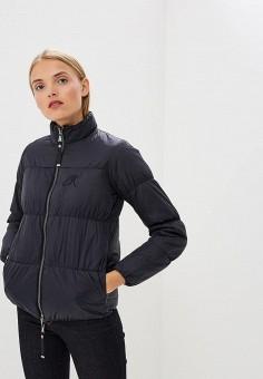 Куртка утепленная, Emporio Armani, цвет: синий. Артикул: EM598EWBLMY1. Premium / Одежда / Верхняя одежда / Зимние куртки