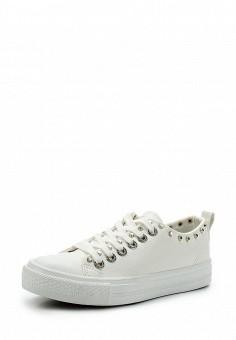 Кеды, Enjoin', цвет: белый. Артикул: EN009AWAJMS7. Обувь / Кроссовки и кеды / Кеды