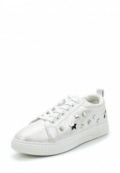 Кеды, Enjoin', цвет: белый. Артикул: EN009AWAJMT2. Обувь / Кроссовки и кеды / Кеды