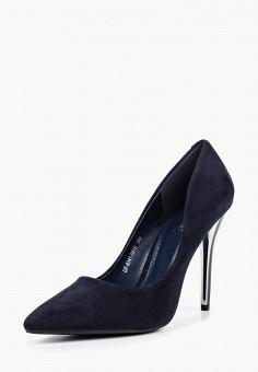 Туфли, Enjoin', цвет: синий. Артикул: EN009AWCADR1. Обувь