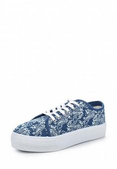 Кеды, Enjoin', цвет: синий. Артикул: EN009AWQKC76. Обувь / Кроссовки и кеды