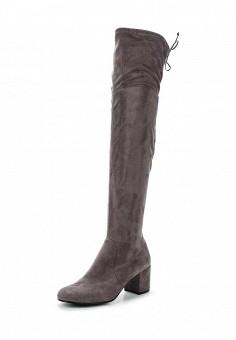 Ботфорты, Nikkn, цвет: серый. Артикул: ER946AWWXX31. Обувь / Сапоги