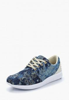 Кроссовки, Escan, цвет: синий. Артикул: ES021AWAJMI0. Обувь / Кроссовки и кеды / Кроссовки