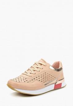 Кроссовки, Escan, цвет: розовый. Артикул: ES021AWAJMI2. Обувь / Кроссовки и кеды / Кроссовки