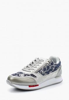 Кроссовки, Escan, цвет: синий. Артикул: ES021AWAJMI3. Обувь / Кроссовки и кеды / Кроссовки