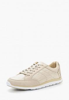 Кроссовки, Escan, цвет: бежевый. Артикул: ES021AWWBL53. Обувь / Кроссовки и кеды / Кроссовки