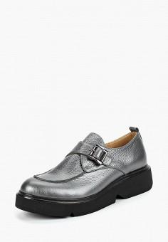 Туфли, Euros Style, цвет: серый. Артикул: EU003AWCRLN8. Обувь