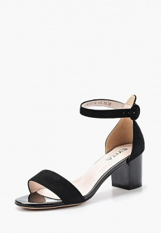 Босоножки, Evita, цвет: черный. Артикул: EV002AWACOV6. Обувь / Босоножки