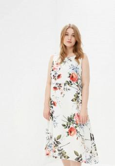 Платье, Evans, цвет: белый. Артикул: EV006EWCCUH8. Одежда / Платья и сарафаны