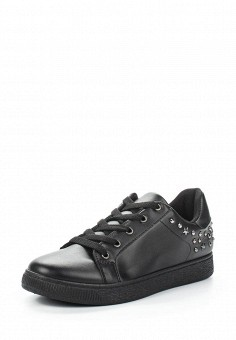 Кеды, Exquily, цвет: черный. Артикул: EX003AWAPND1. Обувь / Кроссовки и кеды / Кеды