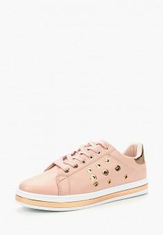 Кеды, Exquily, цвет: розовый. Артикул: EX003AWBAQC2. Обувь / Кроссовки и кеды / Кеды