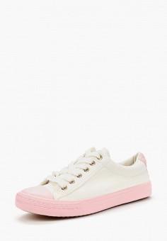 Кеды, Exquily, цвет: белый. Артикул: EX003AWBAQE3. Обувь / Кроссовки и кеды / Кеды