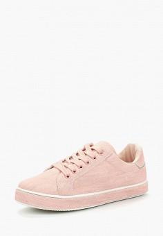 Кеды, Exquily, цвет: розовый. Артикул: EX003AWBAQE6. Обувь / Кроссовки и кеды / Кеды