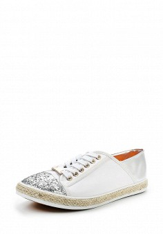 Кеды, Exquily, цвет: белый. Артикул: EX003AWRPO25. Обувь / Кроссовки и кеды