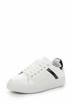 Кеды, Fashion & Bella, цвет: белый. Артикул: FA034AWANUM1. Обувь / Кроссовки и кеды