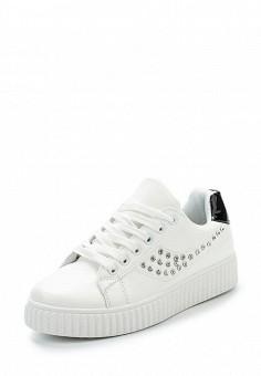 Кеды, Fashion & Bella, цвет: белый. Артикул: FA034AWANUM2. Обувь / Кроссовки и кеды