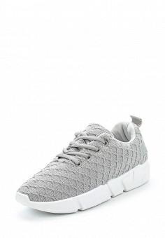 Кроссовки, Fashion & Bella, цвет: серый. Артикул: FA034AWANUM4. Обувь / Кроссовки и кеды