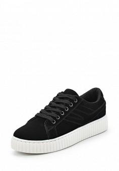 Кеды, Fashion & Bella, цвет: черный. Артикул: FA034AWAWDQ2. Обувь / Кроссовки и кеды