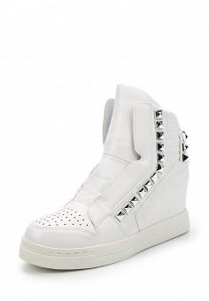 Кеды на танкетке, Fashion & Bella, цвет: белый. Артикул: FA034AWAWDQ6. Обувь / Кроссовки и кеды