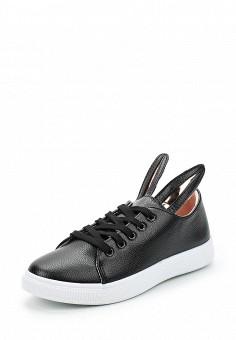 Кеды, Fashion & Bella, цвет: черный. Артикул: FA034AWAWDR2. Обувь / Кроссовки и кеды
