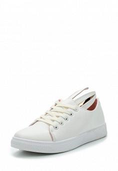 Кеды, Fashion & Bella, цвет: белый. Артикул: FA034AWAWDR3. Обувь / Кроссовки и кеды