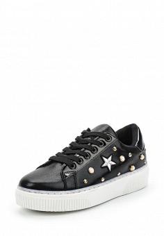 Кеды, Fashion & Bella, цвет: черный. Артикул: FA034AWAWDR4. Обувь / Кроссовки и кеды