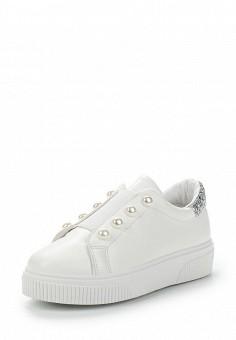 Кеды, Fashion & Bella, цвет: белый. Артикул: FA034AWAWDR6. Обувь / Кроссовки и кеды