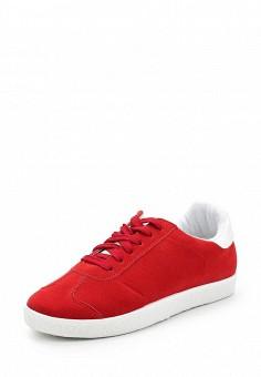 Кеды, Fashion & Bella, цвет: красный. Артикул: FA034AWAWDR9. Обувь / Кроссовки и кеды / Кеды